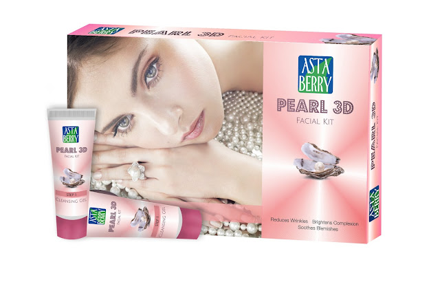 Astaberry Pearl 3D Facial Kit - Review image
