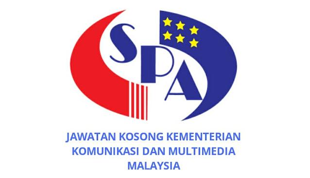 Jawatan Kosong Kementerian Komunikasi dan Multimedia 2021