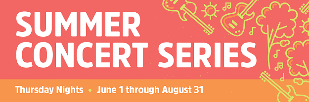 Lincoln Square Summer Concert Series Logo for 2017