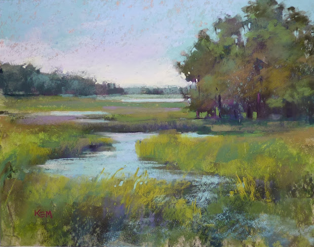 Marsh Landscape Paintings