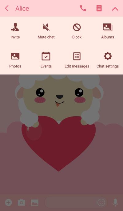 I am Lovely Sheep Theme