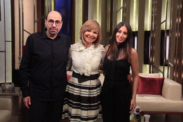 بالصور: اللقاء التلفزيوني الأول لـ هبة طوجي مع لميس الحديدي