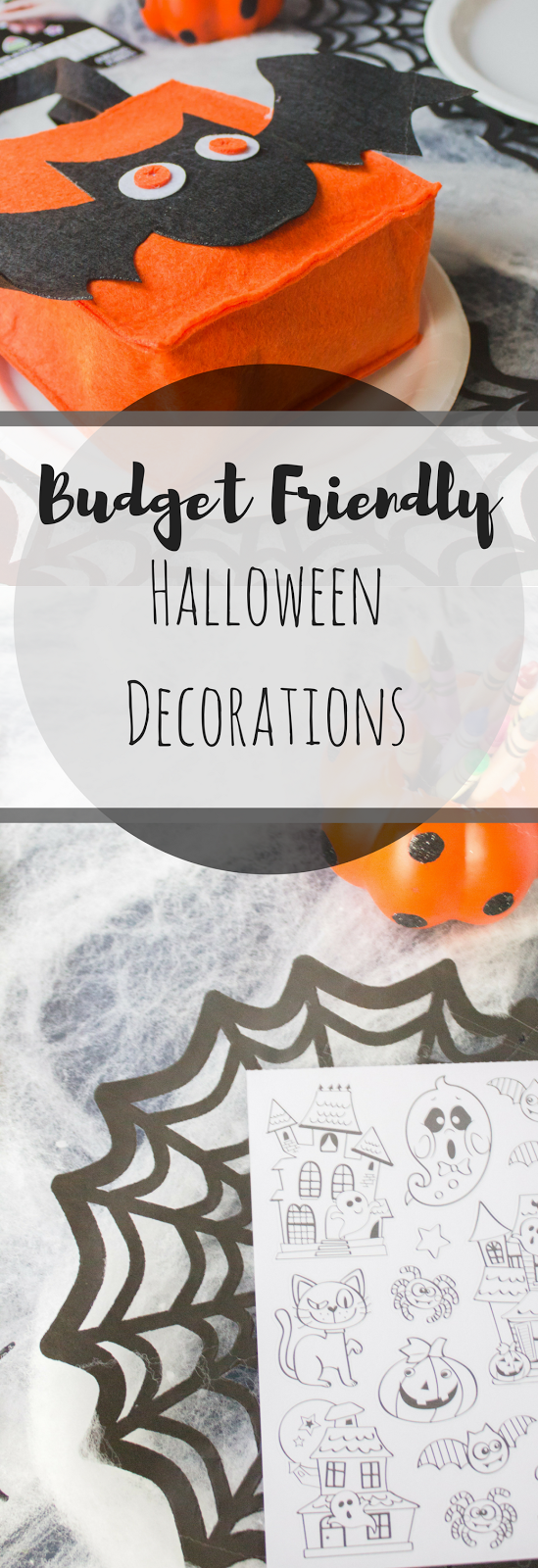 Halloween Decorations, Walmart Holiday Decorations, Holiday Decorations, Place Setting, Kids table place setting, Budget decorations, Holidays at Walmart, Walmart decor
