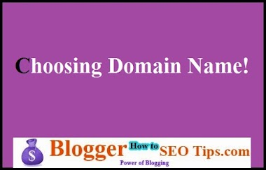 How Choosing Domain Name is Important in Blogging for SEO