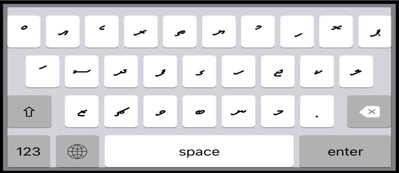How To Install Dhivehi Keyboard On IPhone and iPad