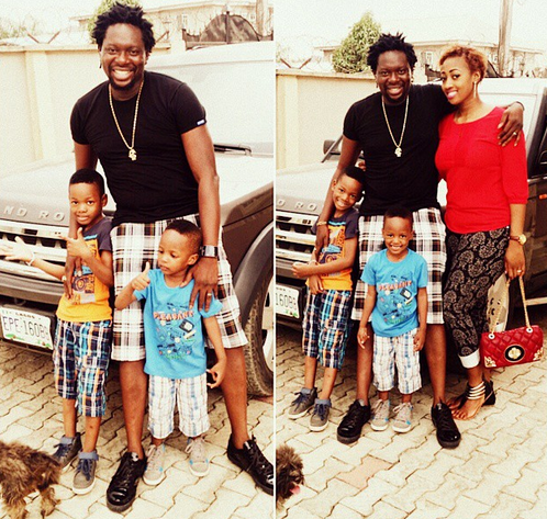 Check out Klint Da Drunk and his family