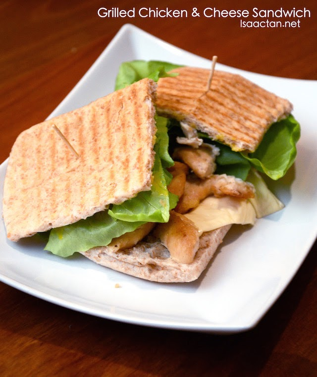 Grilled and Chicken Sandwich - RM11
