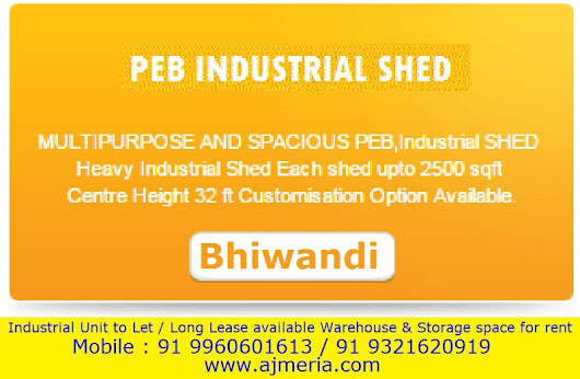 PEB Industrial Shed Multipupose & Spacious PEB Industrial SHED Heavy Industria Shed Each Shed upto 2500 sq ft Height 32 ft