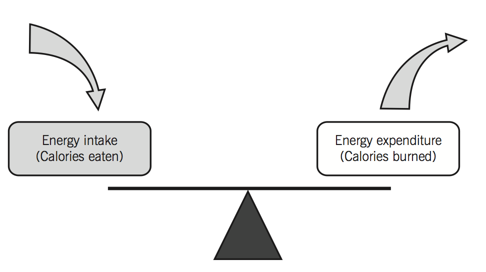 what is the relationship between caloric intake and weight gain