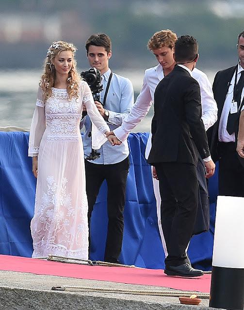 royal couturewedding of italian heiress beatrice