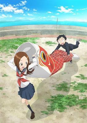 Karakai Jouzu No Takagi-san Season 2 New key Visual