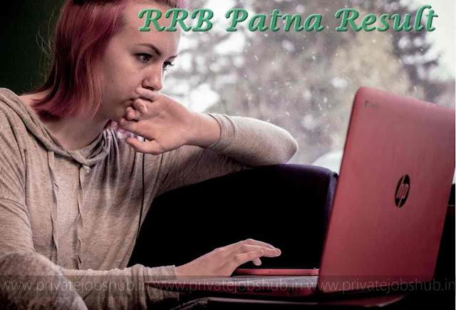 RRB Patna Result