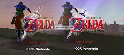 Πως να παίξετε το Zelda 64 : Ocarina of Time και Zelda Master Quest με HD γραφικά 4