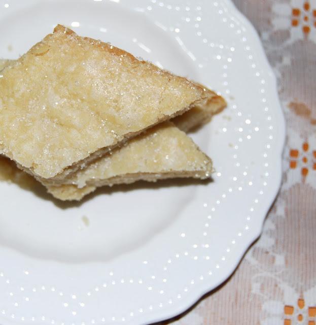 Vegan coconut shortbread