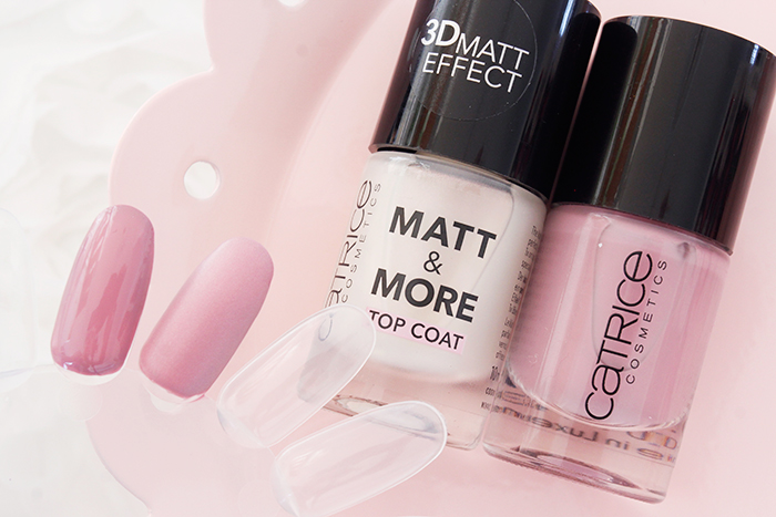 #ManiMonday: Catrice «112 Cha-KIRA» & Catrice «Matt and More» Top Coat