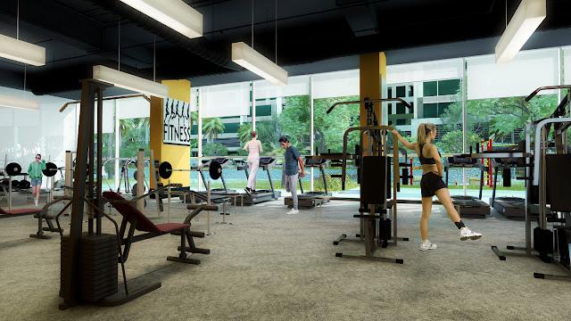 Phòng tập Gym chung cư 378 Minh Khai