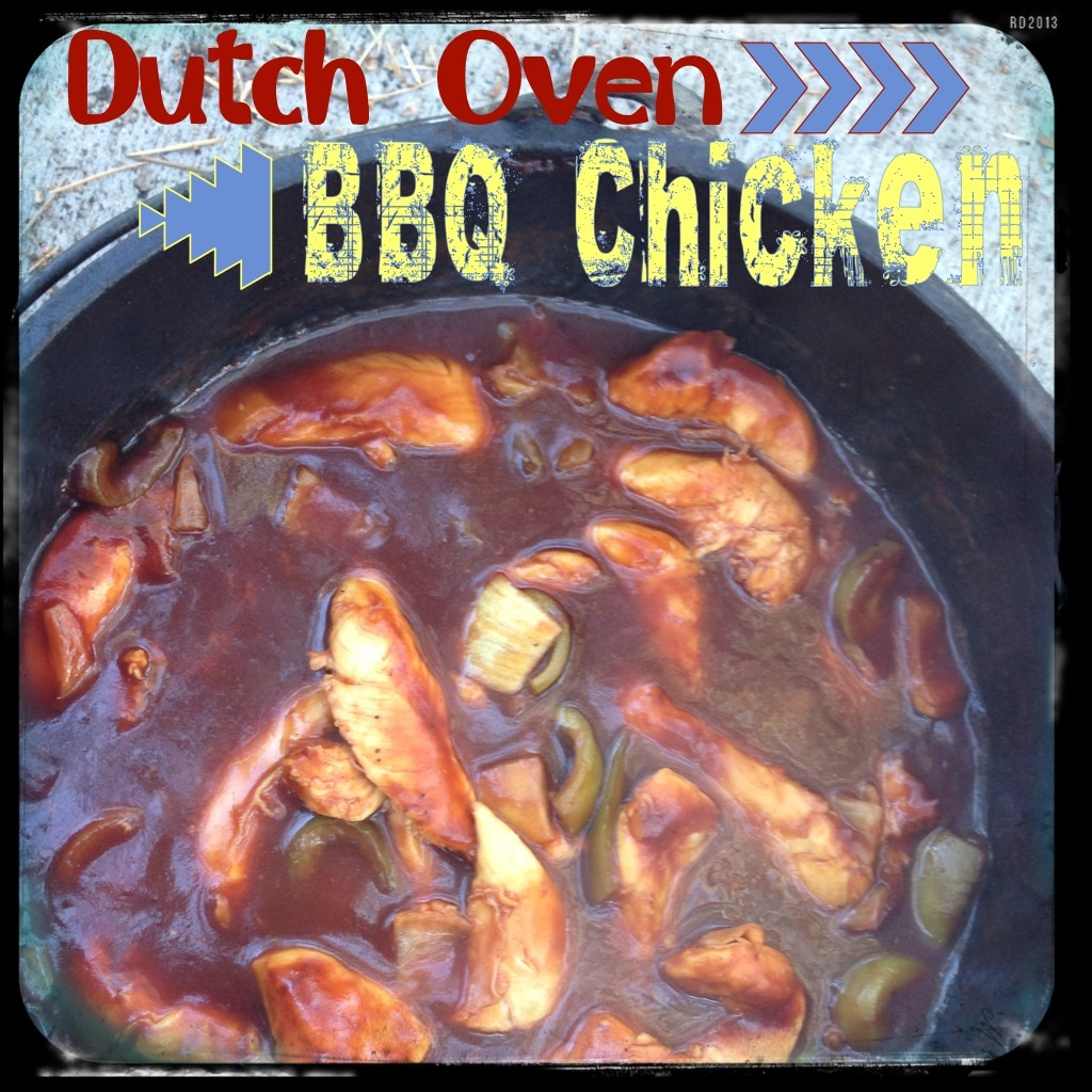 Dutch Oven Easy BBQ Chicken