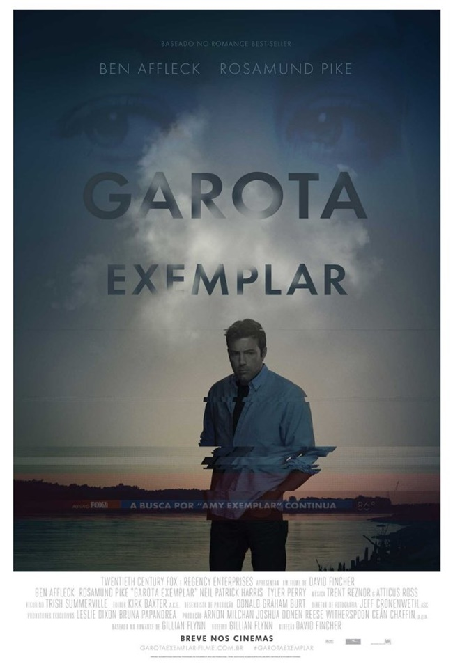 Filme, Garota-Exemplar, Gillian-Flynn, Netflix