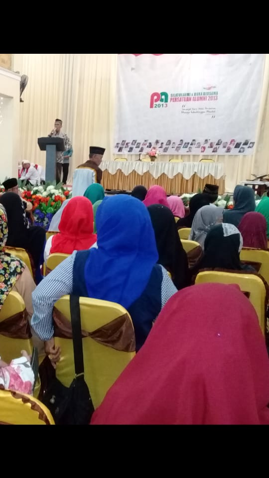 Persatuan Alumni 2013 Konsisten Dukung No 3.