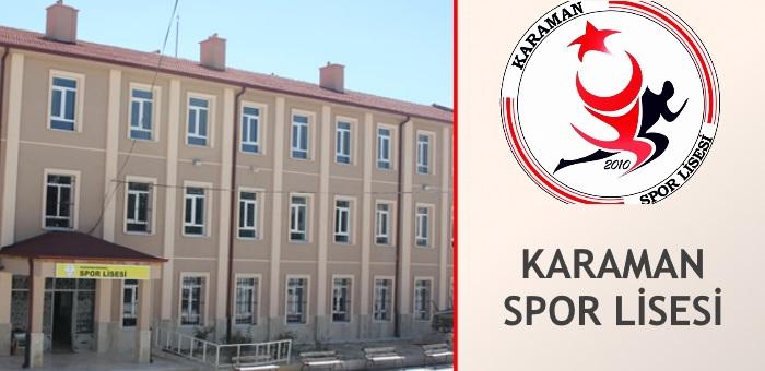 KARAMAN SPOR LİSESİ