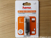 Hama Laeta Twin Pendrive 16 GB OTG z Biedronki