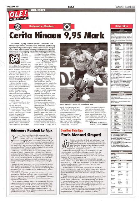 DORTMUND VS HAMBURG CERITA HINAAN 9,95 MARK