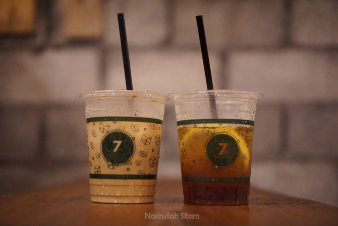 Es Kopi Susu dan Cold Brew Lemon