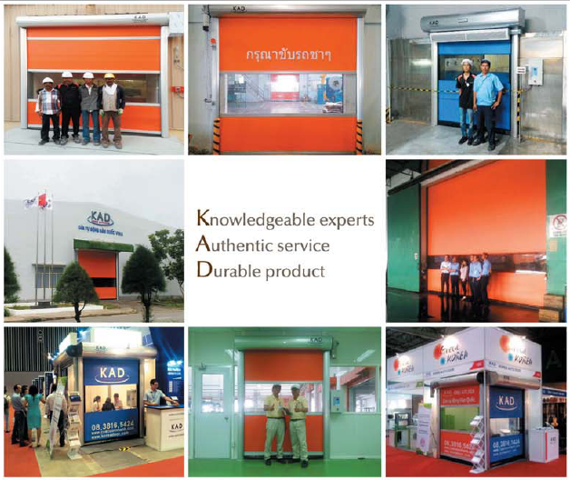 pics of kad high speed doors thailand