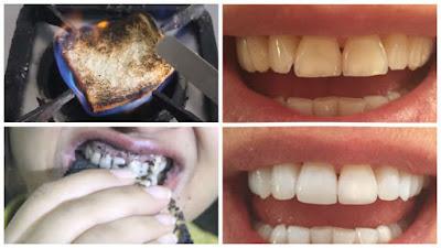 Sử dụng bánh mỳ để làm trắng răng bị vàng cũng rất hiệu quả