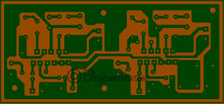 PCB Layout Power Amplifire TDA 2005 Stereo