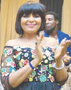 nollywood actress Christine Godfrey