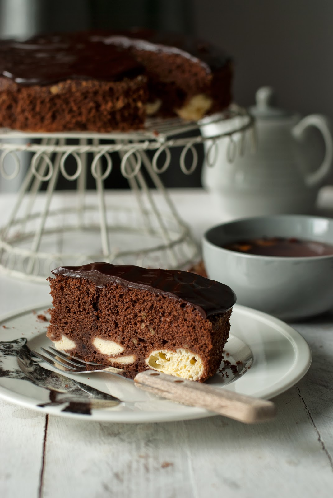 Ciasto czekoladowe z białym serem