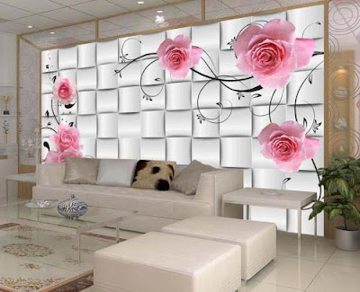 3D wallpaper for walls of living room interior designs 3D murals images (16)