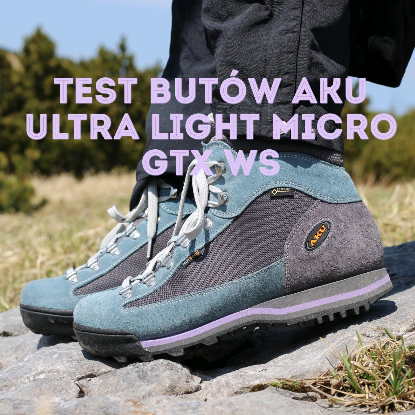 Test Butow Aku Ultra Light Gtx Ws Goromaniacy
