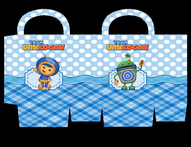 Cajas de  Umizoomi para imprimir gratis