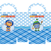 Team Umizoomi: Free Printable Candy Paper Bag.