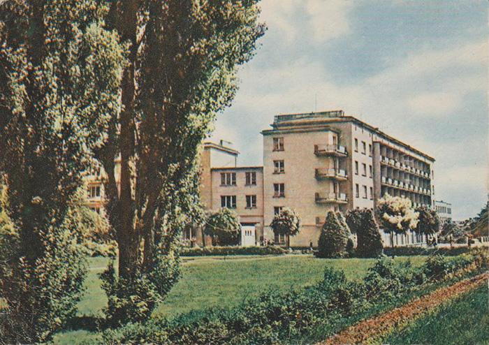 Grudziądz, Bloki przy ulicy Mikołaja z Ryńska lata 60-te