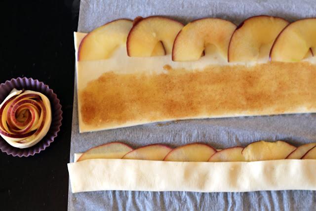 Apfelrosen Zubereitung