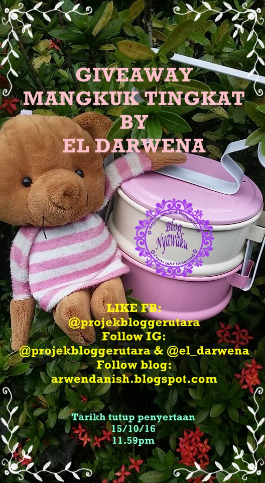 Giveaway Mangkuk Tingkat by El Darwena  Make Money Online