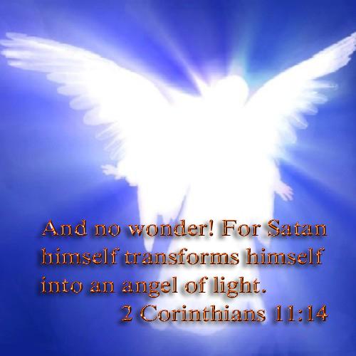 How satan disguises himself as an angel of light