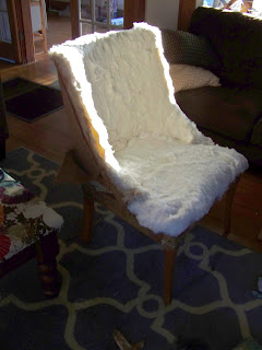 removing old upholstery