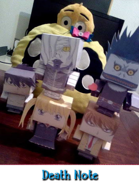 Cubeecraft de Death Note