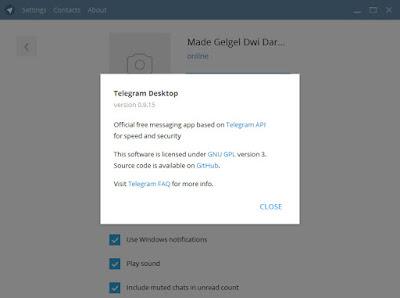 Telegram masih bisa diakses melalui komputer