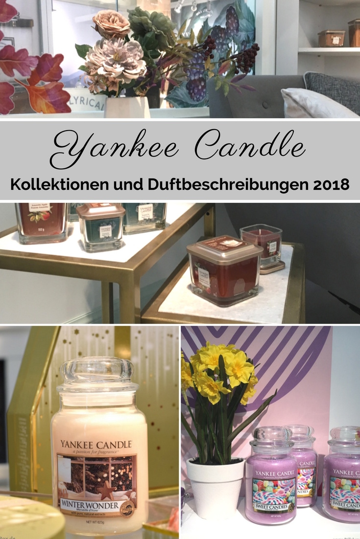 Yankee Candle - Alle Kollektionen und Duftbeschreibungen für 2018 - Enjoy The Simple Things, Ostern, Just Go, The Elevation Collection, Charming Scents, Autumn Pearl, Holiday Sparkle