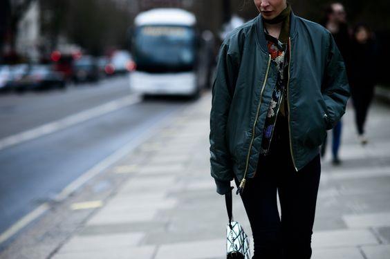 W Magazine LFW Street Style - Irina Lakicevic