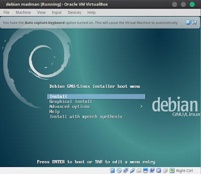 Instalasi Debian Server 8 Jessie