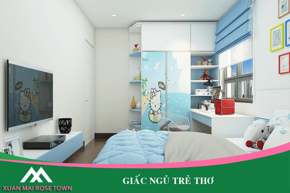 Phòng ngủ cho bé tại Xuân Mai Town