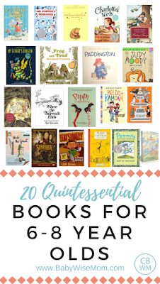 Books for 6-8 year olds. Books for elementary age children.
