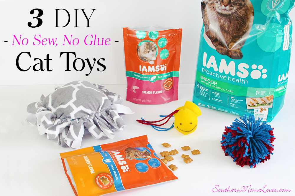 Southern mom loves treat your kitty with 3 puurfect diy for Kitten toys you can make