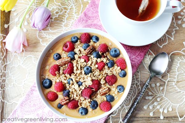 Super Antioxidant Boost Smoothie Bowl